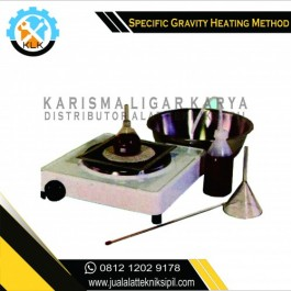 Jual Specific Gravity (Heating Method)